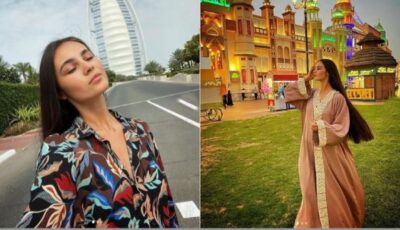Cu un trup de zeiță pe plajele din Dubai! Nina Crețu, provocatoare în costum de baie