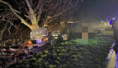 Grav accident la Nisporeni: doi copii de 16 ani au decedat
