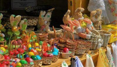 Sectoarele din Capitală unde sunt organizate târguri cu produse de Paște: cozonaci și păști