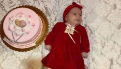 O fetiță de 6 luni, din Criuleni, a primit un diagnostic crunt – amiotrofie spinală. Să o ajutăm împreună!