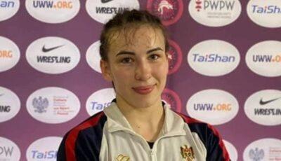 Luptătoarea moldoveancă Irina Rîngaci a devenit campioană europeană