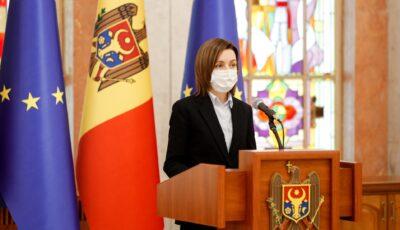 Președinta Maia Sandu a transmis un mesaj de condoleanțe Casei Regale a Marii Britanii