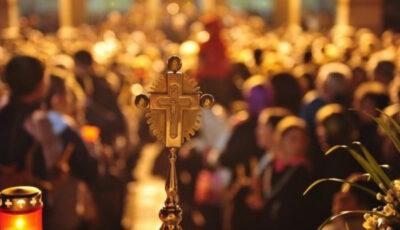 În Chișinău, slujbele de Înviere vor fi desfășurate în exterior utilizând sisteme de sonorizare