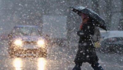 Ninge în Moldova. Fiți atenți la drum!