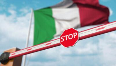 Italia a scurtat carantina la 5 zile pentru vizitatorii din 30 de ţări