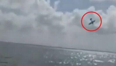 Un avion închiriat să dezvăluie sexul viitorului bebeluș, s-a prăbușit în mare. Doi piloți sunt de negăsit