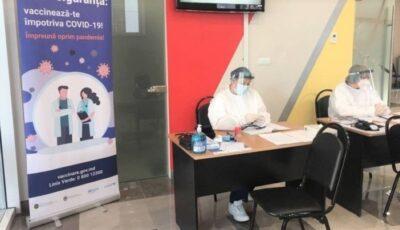 Doar 150 de persoane s-au vaccinat, ieri, la centrul anti-Covid deschis la Chișinău