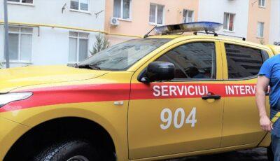 Scurgere de gaze într-un bloc locativ din Chișinău. 37 de persoane, evacuate