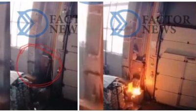 Un muc de țigară ar fi provocat incendiul devastator din strada Calea Basarabiei