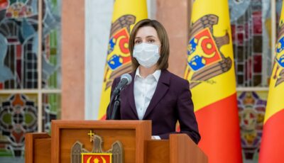 Maia Sandu a anunțat că se va vaccina cu Astra Zeneca