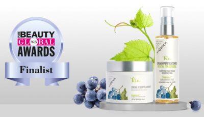 """Produsele """"Viorica"""" – în finala prestigiosului concurs """"Pure Beauty Global Awards"""""""