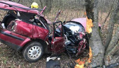 Doi soți tineri, de 33 și 37 de ani, au decedat într-un grav accident la Ocnița