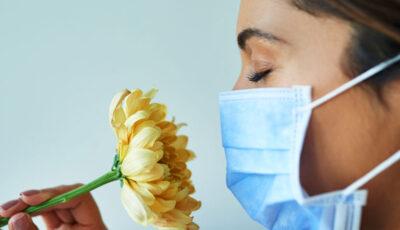 Exercițiu pentru recuperarea mirosului după Covid-19