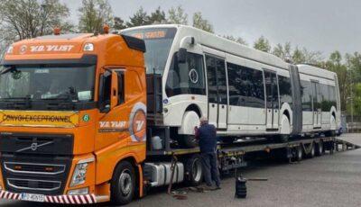 Spre Chișinău, a pornit primul troleibuz nou cumpărat de la o companie din Italia