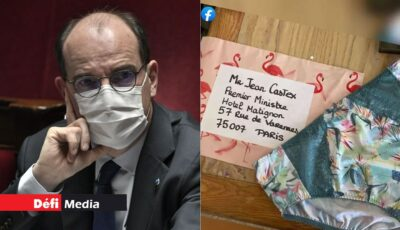 Premierul Franței a primit 80 de perechi de chiloți în semn de protest, din partea magazinelor de lenjerie intimă