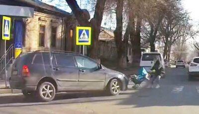 Mama cu cărucior lovit pe o trecere de pietoni este soția lui Alex Calancea