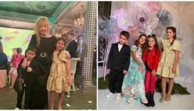 Petrecere cu fast la Moscova de ziua nepoțicăi Allei Pugacheva! Copiii lui Filip Kirkorov și ai lui Jasmin, printre invitați