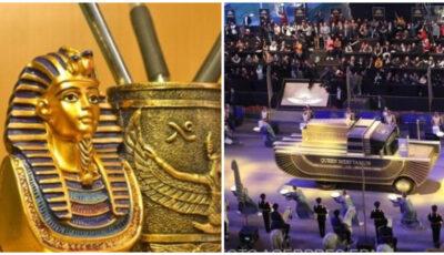 """Imagini spectaculoase! Parada de Aur a Faraonilor din Egipt. Localnicii se tem de """"blestemul faraonului"""""""