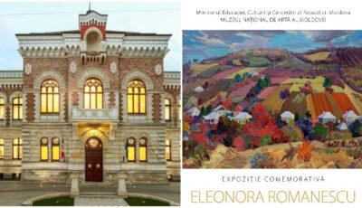 Expoziție inedită la Muzeul Naţional de Artă al Moldovei, dedicată artistei basarabence Eleonora Romanescu