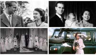 Prinţul Philip și Elisabeta a II-a. Imagini de colecție impresionante