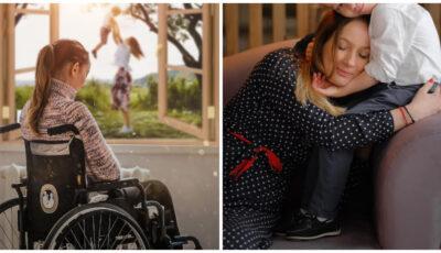 Ajutor pentru tânăra mamă din Ungheni, rămasă imobilizată într-un scaun cu rotile după un accident provocat intenționat de fostul soț