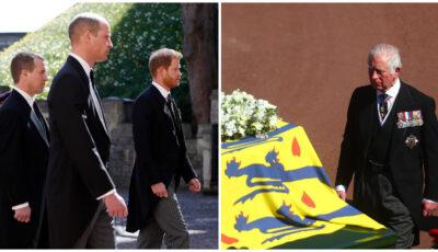 Galerie foto. La Londra a avut loc înmormântarea prințului Philip