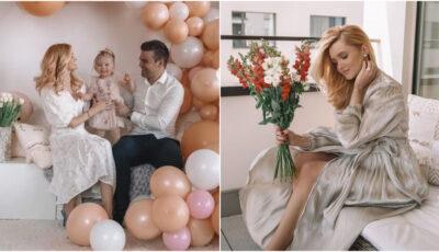 Cristina Gheiceanu a dezvăluit sexul celui de-al doilea bebeluș
