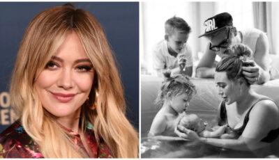 Hilary Duff și-a lăsat fiul de 9 ani să asiste la nașterea fetiței cuplului. Cum și-a explicat decizia?