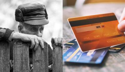 Un pensionar din Hâncești a rămas fără 176.000 de lei adunați pe card