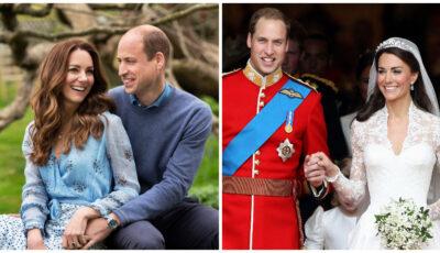 Prinţul William și soția sa, Kate Middleton sărbătoresc 10 ani de căsnicie. Fotografii date publicității