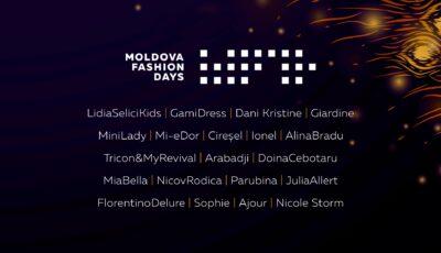 Branduri consacrate și nume noi în industria fashion: Designerii care își vor prezenta colecțiile la o nouă ediție Moldova Fashion Days