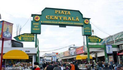 Piața Centrală din Chișinău are un alt program de lucru