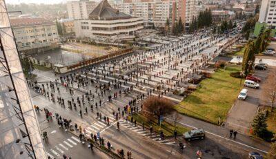 Paștele catolic într-un oraș din România pe timp de pandemie. Iată cum a arătat!