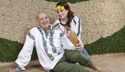 Gheorghe Zamfir împlineşte azi 80 de ani. Maestrul naiului sărbătoreşte alături de soţia mai tânără cu 44 de ani!