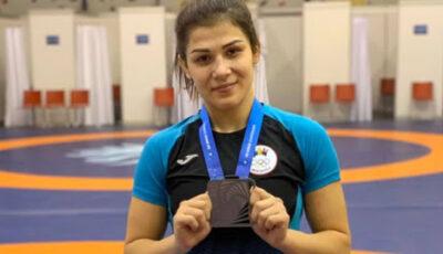 Luptătoarea Anastasia Nichita a cucerit medalia de bronz la Campionatele Europene