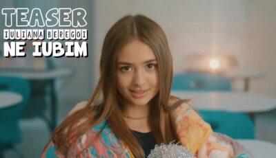 ",,Ne iubim"". Iuliana Beregoi a lansat un nou videoclip"