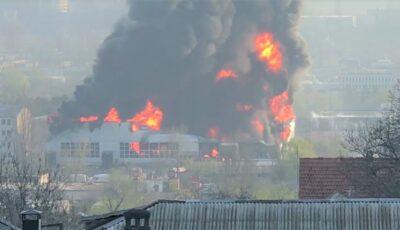 Alarmant! Substanțe toxice în aerul din Chișinău în urma incendiului?