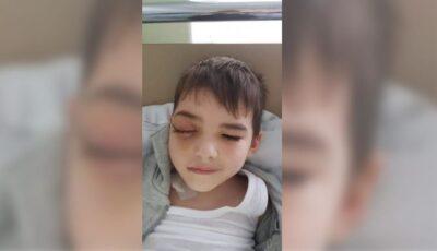 Un băiețel de 4 ani care suferă de tumoare, are nevoie urgentă de ajutor!