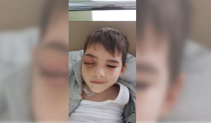 Foto: Un băiețel de 4 ani care suferă de tumoare, are nevoie urgentă de ajutor!