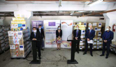 UE, Guvernul Germaniei și OMS au livrat Moldovei echipamente de protecție în valoare de 537.500 euro