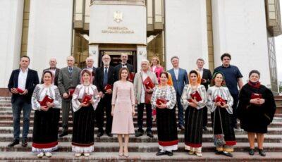 Maia Sandu: Republica Moldova are oameni talentați, adevărați ambasadori ai valorilor