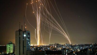 Circa 3.000 de rachete au fost lansate în această săptămână din Fâşia Gaza spre Israel, anunță armata israeliană