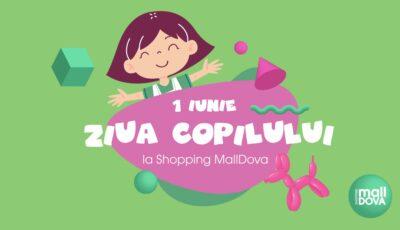 Sărbătorește Ziua Internațională a Copiilor la Shopping MallDova