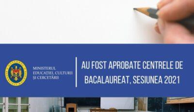 Ministerul Educaţiei a aprobat lista centrelor de bacalaureat, sesiunea 2021