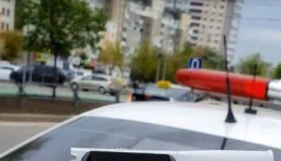 Un șofer beat criță conducea haotic pe o stradă din Capitală