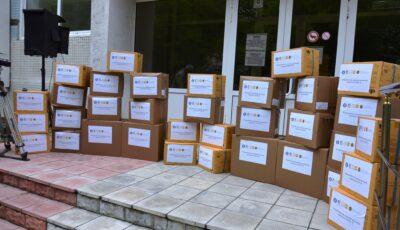 Încă un lot de echipamente de protecție împotriva infecției Covid-19, oferit Moldovei cu sprijinul financiar al Guvernului României