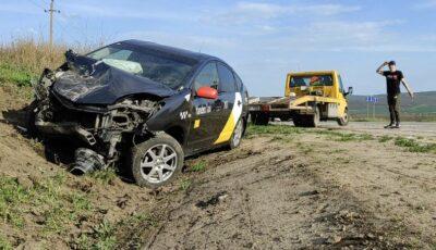Accident violent pe traseul Chișinău-Bălți, în ziua de Paște