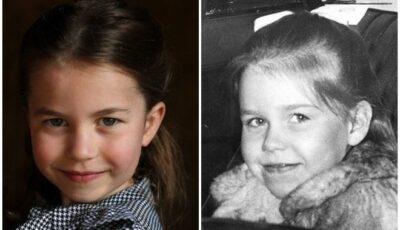 Charlotte Elizabeth Diana este copia Reginei în copilărie. Pozele care fac furori