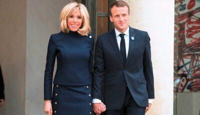 Emmanuel Macron și soția sa, Brigitte, s-au vaccinat anti-Covid-19