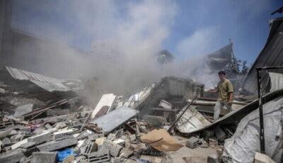 Un atac israelian în Fâșia Gaza a ucis o familie de 10 persoane, majoritatea copii